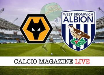 Wolverhampton West Bromwich cronaca diretta live risultato in tempo reale