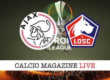 Ajax Lille cronaca diretta live risultato in tempo reale