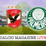Al Ahly Palmeiras cronaca diretta live risultato in tempo reale