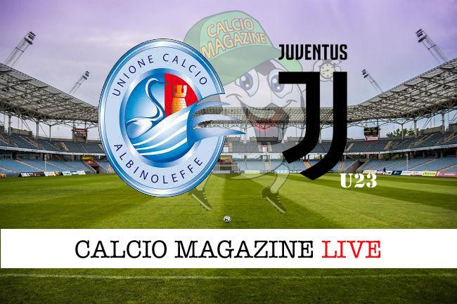 AlbinoLeffe Juventus u23 cronaca diretta live risultato in tempo reale