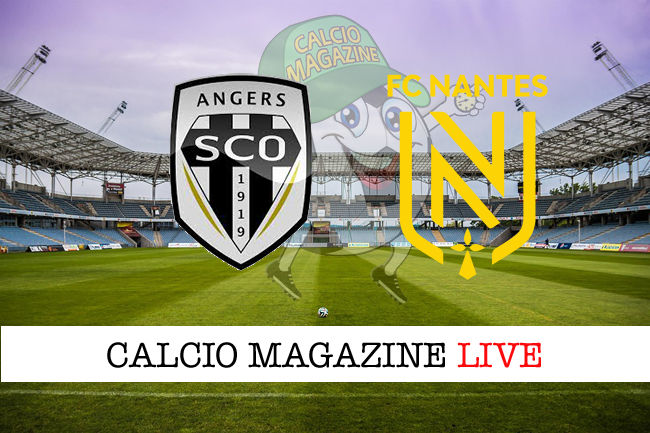 Angers Nantes cronaca diretta live risultato in tempo reale