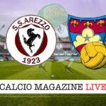 Arezzo Gubbio cronaca diretta live risultato in tempo reale