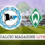 Arminia Bielefeld Werder Brema cronaca diretta live risultato in tempo reale