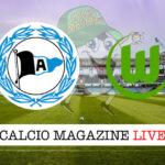 Arminia Bielefeld Wolfsburg cronaca diretta live risultato in tempo reale