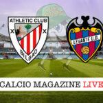 Athletic Bilbao Levante cronaca diretta live risultato in tempo reale