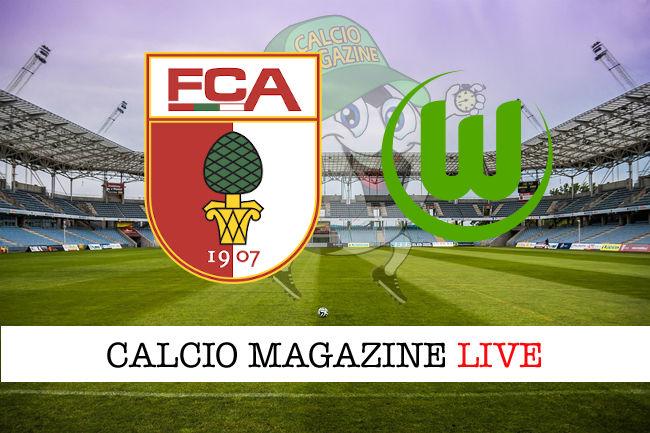 Augusta Wolfsburg cronaca diretta live risultato in tempo reale
