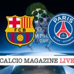 Barcellona PSG cronaca diretta live risultato in tempo reale