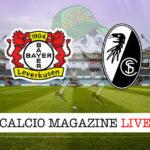 Bayer Leverkusen Friburgo cronaca diretta live risultato in tempo reale