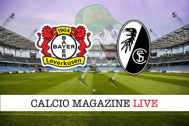 Bayer Leverkusen - Friburgo 1-2: diretta live e risultato finale