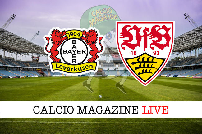 Bayer Leverkusen Stoccarda cronaca diretta live risultato in tempo reale
