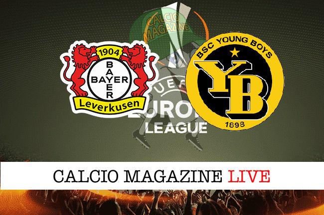 Bayer Leverkusen Young Boys cronaca diretta live risultato in tempo reale