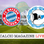 Bayern Monaco Arminia Bielefeld cronaca diretta live risultato in tempo reale
