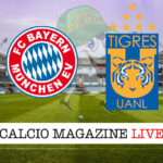 Bayern Monaco Tigres cronaca diretta live risultato in tempo reale