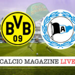 Borussia Dormund Arminia Bielefeld cronaca diretta live risultato in tempo reale