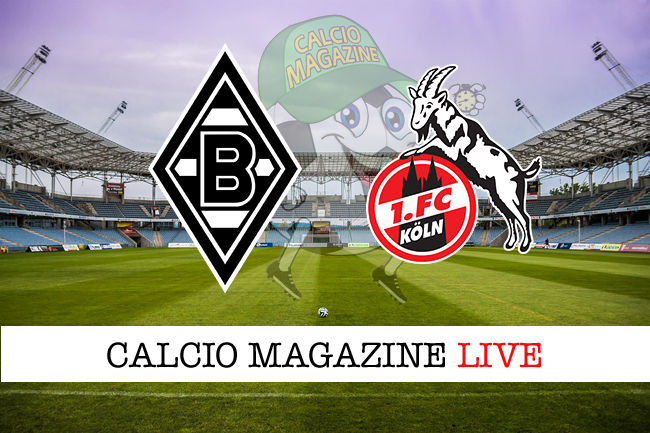 Borussia Monchengladbach Colonia cronaca diretta live risultato in tempo reale