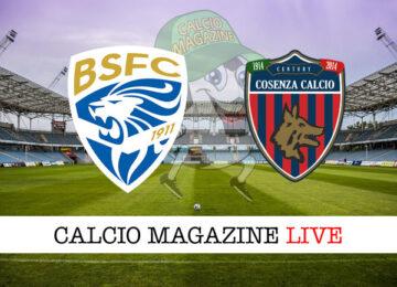 Brescia Cosenza cronaca diretta live risultato in tempo reale