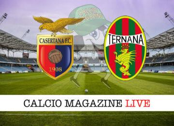 Casartana Ternana cronaca diretta live risultato in tempo reale