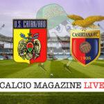 Catanzaro Casertana cronaca diretta live risultato in tempo reale