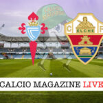 Celta Vigo Elche cronaca diretta live risultato in tempo reale