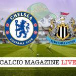 Chelsea Newcastle cronaca diretta live risultato in tempo reale