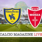 Chievo Verona Monza cronaca diretta live risultato in tempo reale