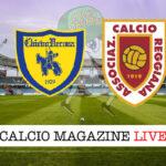 Chievo Verona Reggiana cronaca diretta live risultato in tempo reale