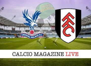 Crystal Palace Fulham cronaca diretta live risultato in tempo reale