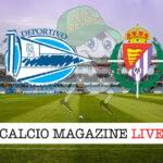 Deportivo Alaves Valladolid cronaca diretta live risultato in tempo reale