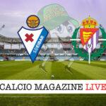 Eibar Valladolid cronaca diretta live risultato in tempo reale