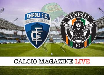 Empoli Venezia cronaca diretta live risultato in tempo reale