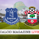 Everton Southampton cronaca diretta live risultato in tempo reale