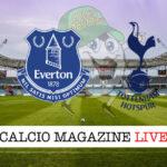 Everton Tottenham cronaca diretta live risultato in tempo reale