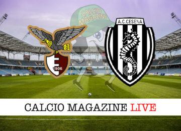 Fano Cesena cronaca diretta live risultato in tempo reale
