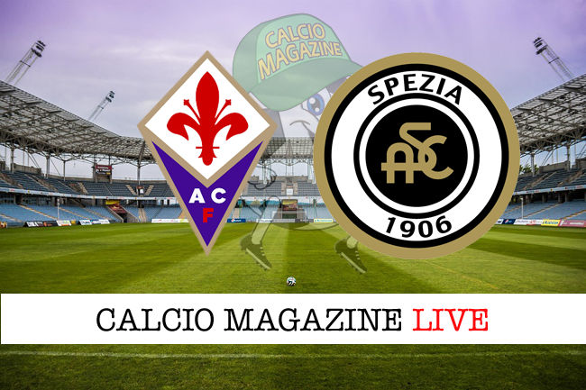 Fiorentina Spezia cronaca diretta live risultato in tempo reale