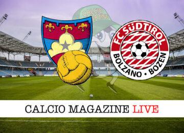 Gubbio Sudtirol cronaca diretta live risultato in tempo reale