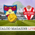 Gubbio Vis Pesaro cronaca diretta live risultato in tempo reale