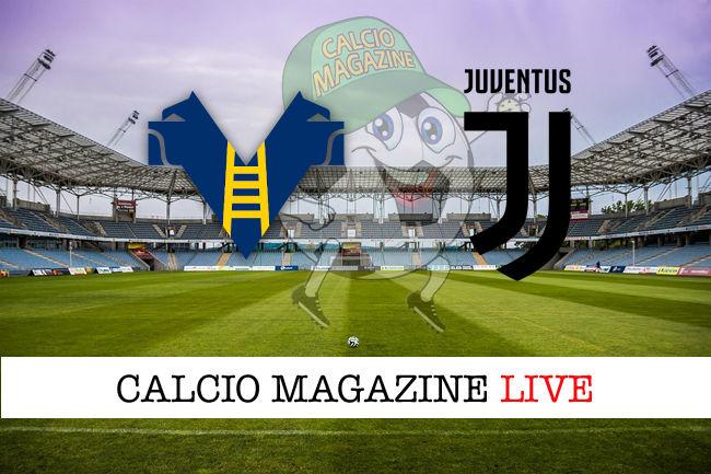 Hellas Verona Juventus cronaca diretta live risultato in tempo reale