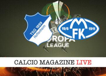 Hoffenheim Molde cronaca diretta live risultato in tempo reale