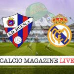 Huesca Real Madrid cronaca diretta live risultato in tempo reale