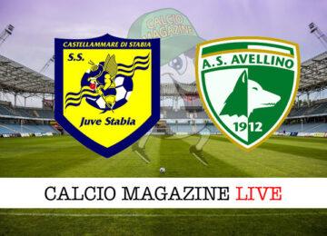 Juve Stabia Avellino cronaca diretta live risultato in tempo reale
