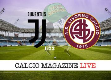 Juventus u23 Livorno cronaca diretta live risultato in tempo reale