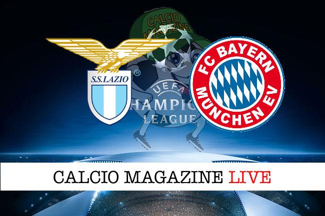 Lazio Bayern Monaco cronaca diretta live risultato in tempo reale