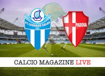 Legnago Salus Padova cronaca diretta live risultato in tempo reale