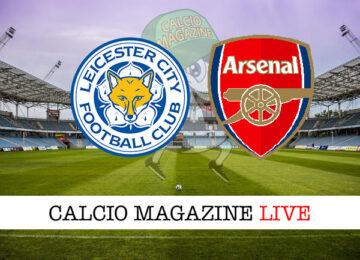 Leicester Arsenal cronaca diretta live risultato in tempo reale