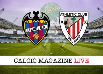 Levante Athletic Bilbao cronaca diretta live risultato in tempo reale
