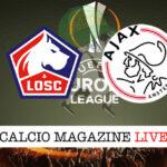 Lille Ajax cronaca diretta live risultato in tempo reale