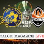 Maccabi Tel Aviv Shakhtar Donetsk cronaca diretta live risultato in tempo reale