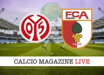 Mainz 05 Augusta cronaca diretta live risultato in tempo reale