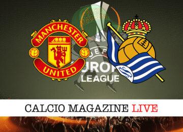 Manchester United Real Sociedad cronaca diretta live risultato in tempo reale
