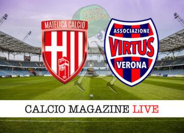 Matelica Virtus Verona cronaca diretta live risultato in tempo reale
